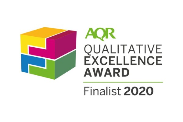 Hook Research - Qualitative Excellence Award Finalist