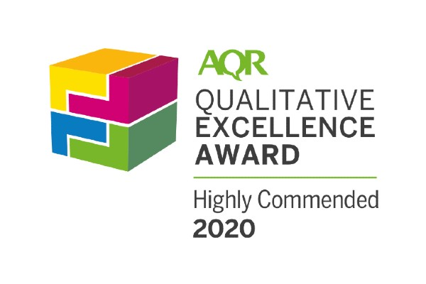AQR - Hook Research - Qualitative Excellence Award 2020